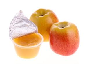 rigid single serve applesauce cup